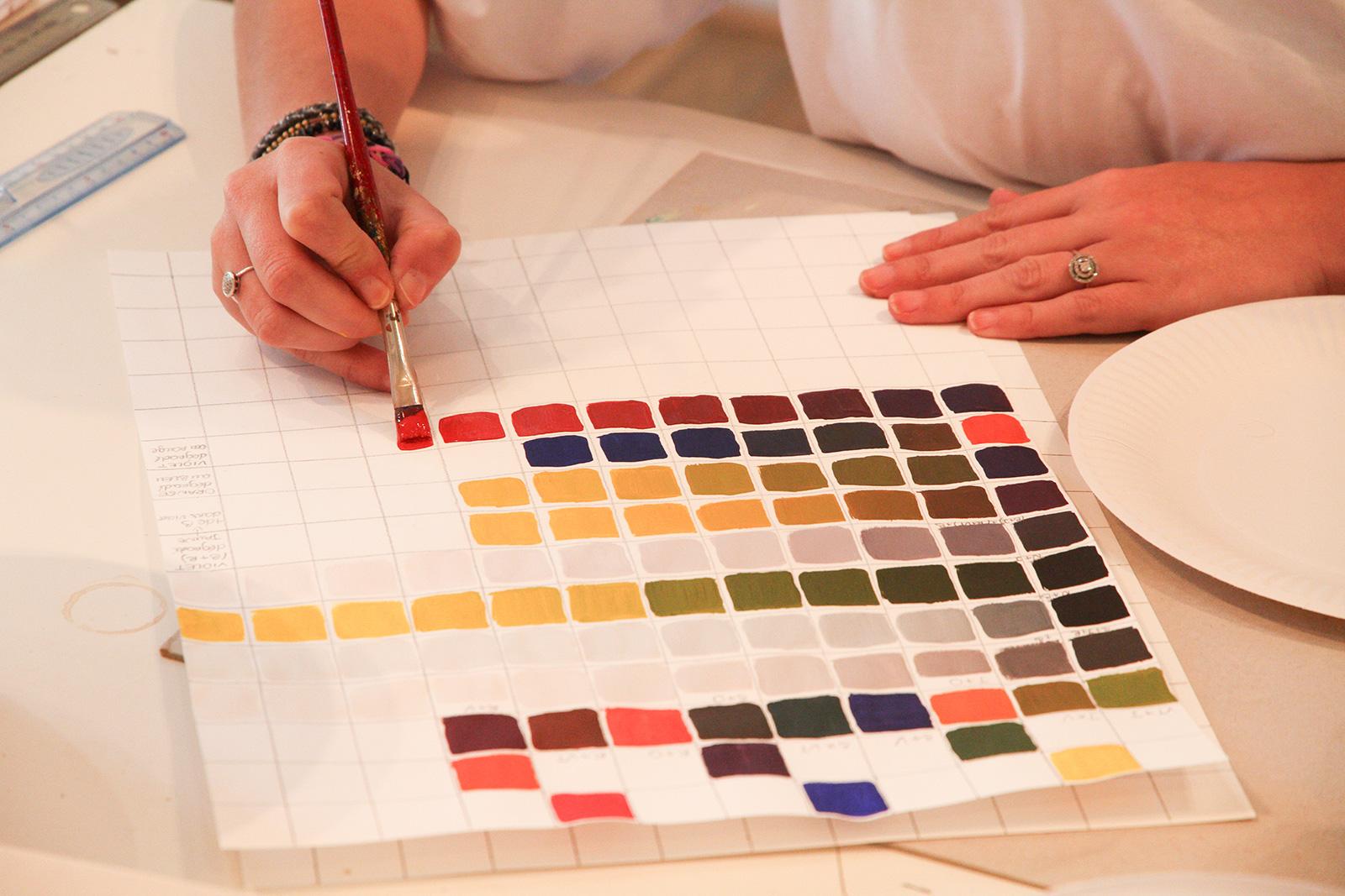 les couleurs et les harmonies 19 au 22 janvier 2016 genevi ve naudin artiste peintre. Black Bedroom Furniture Sets. Home Design Ideas