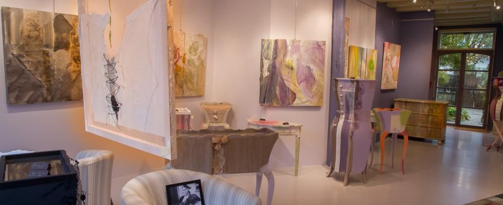 La galerie du Liseron, une espace d'exposition à Tours