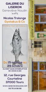 Exposition de Gyotakus par Nicolas Trolonge