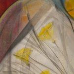 Danse des plumes - Toile de Geneviève Naudin